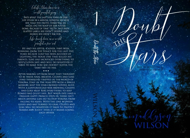 doubt the stars layout - second cover