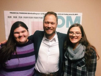 Me and my sister with Andrew Peterson